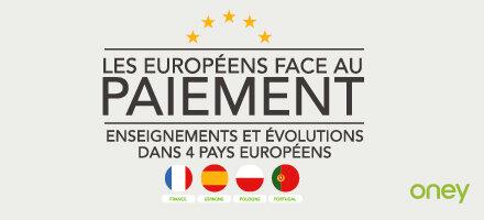 Oney présente son étude européenne sur les habitudes de paiement :  6 consommateurs sur 10 utilisent le paiement  fractionné, en France, en Espagne, en Pologne et au Portugal