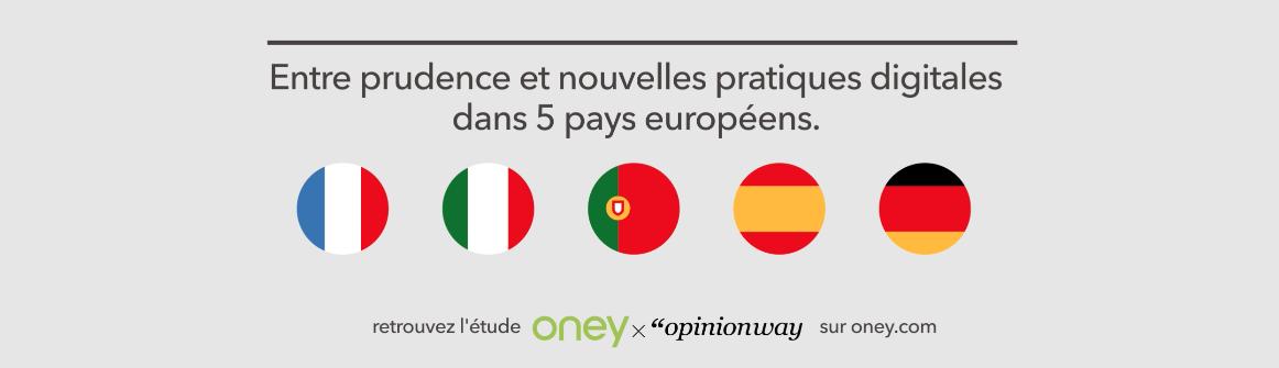 Oney présente son étude sur l'impact de la crise sanitaire sur les habitudes des consommateurs européens
