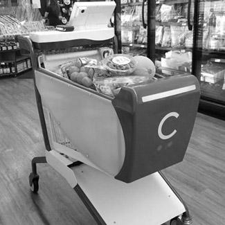 a smart shopping cart