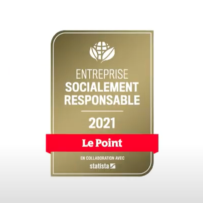 Oney recognized by a Responsible French Company label awarded by Le Point!