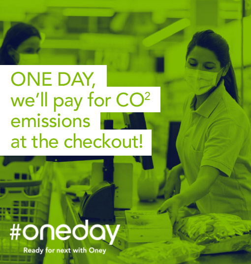 One day, we'll pay for CO2 emissions at the checkout!