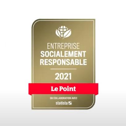 Oney reconnu par le label Entreprise Française Responsable du Point !