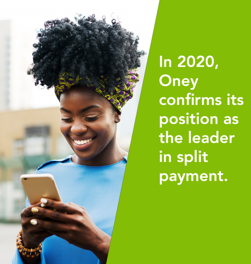 In 2020, Oney confirms its position as the leader in split payment